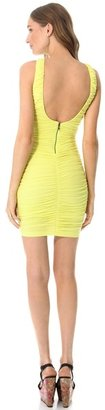 Alice + Olivia Air by Ruched Tank Fitted Dress