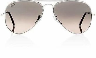 Ray-Ban Men's Large Aviator Sunglasses - Silver