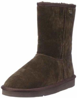 Buffalo Girl Women's 238892 SY Suede Slip Boots, Braun (Brown 50), 8 UK