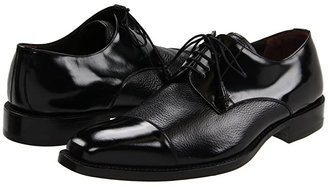 Mezlan Soka (Black) Men's Lace Up Cap Toe Shoes