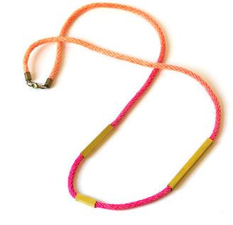 MYRRH Jewelry Charis Necklace Pink Orange