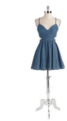 GUESS Sheba Cotton Denim Dress