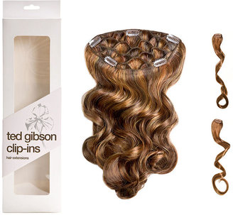 Ted Gibson 3 piece Clip In Hair Extension, Marcia (Copper / Golden Red) 1 ea