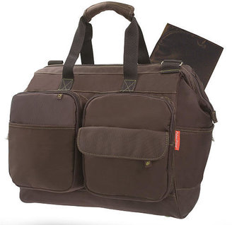 Fisher-Price Fastfinder™ Deluxe Wide Opening Diaper Bag - Brown (Colors/Styles Vary)