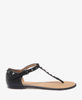 Forever 21 Studded Thong Sandals
