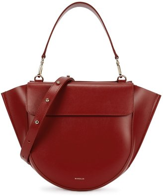 Wandler Hortensia Medium Leather Top Handle Bag
