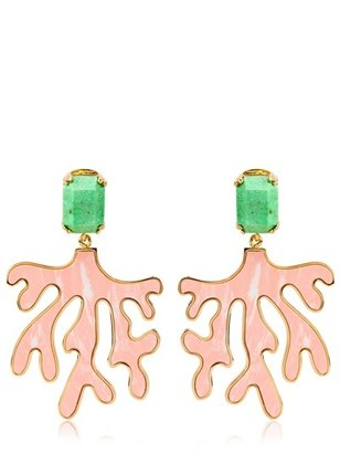 House Of Lavande - Everglades Coral Earrings