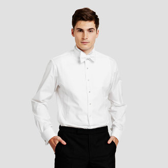 Thomas Pink Marcella Wing Evening Slim Fit Double Cuff Shirt