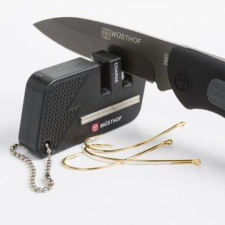 Wusthof Sport Keychain 2-Stage Knife Sharpener - Fish Hook Sharpener