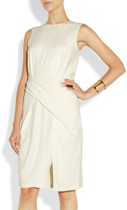 Alexander Wang Twisted textured-crepe dress