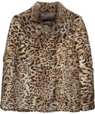 Isabel Marant Primo leopard-print rabbit coat
