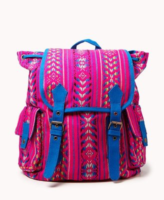 Forever 21 Southwestern Pattern Backpack