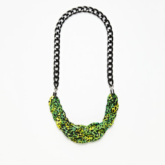Cheek-ie Maxine Necklace Animal Print