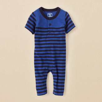 Children's Place Striped coverall