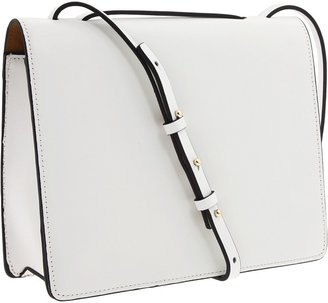 BCBGMAXAZRIA Loren Shoulder Bag (White) - Bags and Luggage