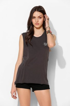 Urban Outfitters Midnight Rider Eagle Moto Muscle Tee