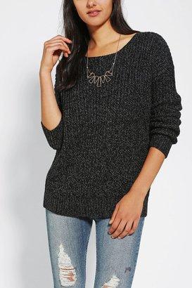 Sparkle & Fade Cross-Back Sweater