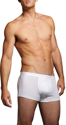 Hanro Boxer Briefs Two-Pack, White $66 thestylecure.com