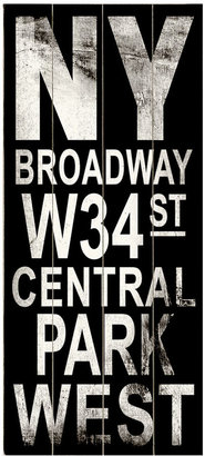 ArteHouse Wall Art, NY Broadway Destination Sign