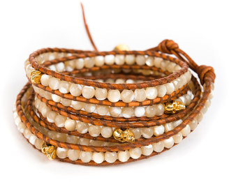 Chan Luu Mother of Pearl Wrap Bracelet