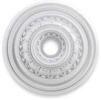 """STUDY ELK Lighting English 24"""" Ceiling Medallion - White"""