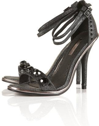 Topshop RUPA Gem Studded Strappy Heels