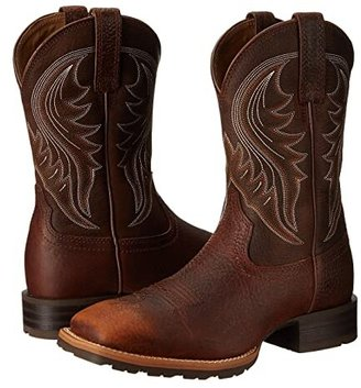 Ariat Hybrid Rancher (Brown Oiled Rowdy) Cowboy Boots