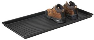 Container Store Boot Tray Black