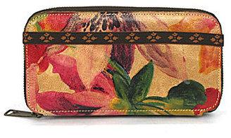 Patricia Nash Spring Collection Oria Floral Zip Wallet