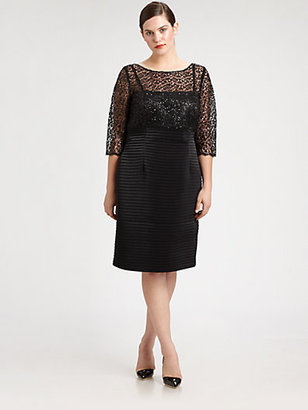 Kay Unger Kay Unger, Sizes 14-24 Lace/Sequin Dress