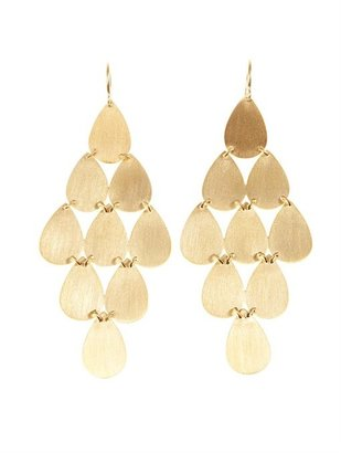 Irene Neuwirth Yellow-gold chandelier earrings