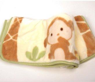 Carter's monkey snoozy snug blanket