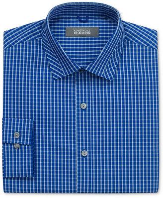 Kenneth Cole Reaction Dress Shirt, Slim Fit Mini Box Check Long Sleeve Shirt