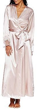 JCPenney Flora Charmeuse Nightgown or Robe