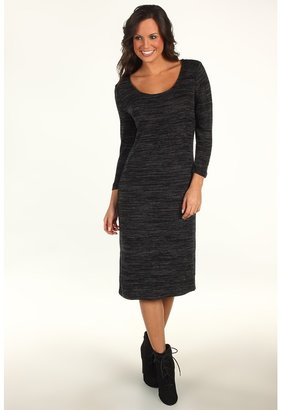 Quiksilver Soho Dress (Charcoal Heather Grey) - Apparel