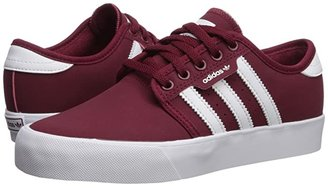 adidas Skateboarding Seeley J (Little Kid/Big Kid) (Collegiate Burgundy/Footwear White/Footwear White) Skate Shoes