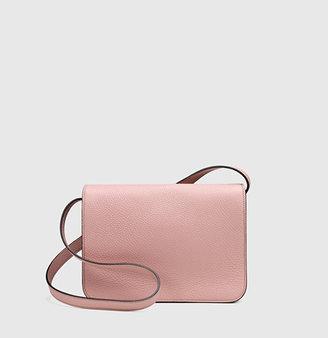 Gucci Jackie Soft Leather Flap Shoulder Bag