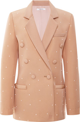 Rodarte Embellished Double Breasted 3D Foam Jacket