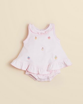 Kissy Kissy Infant Girls' Cupcake Bubble Popover - Sizes 0-9 Months