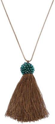 Shourouk tassel necklace
