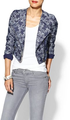Juicy Couture Skies Are Blue Paisley Jacket