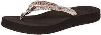 Reef Women's Twisted Star Cushion Flip-Flop $25.64 thestylecure.com