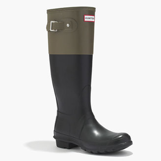 Love Hunter Hunter® Buckle-Back Tall Wellies in Colorblock
