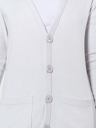 American Apparel Unisex Oversized Cotton Rib Pocket Cardigan