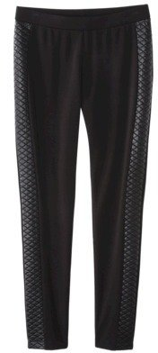 Mossimo Women's Ponte Ankle Pant - Black