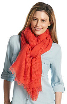 Steve Madden Small Basket Weave Scarf