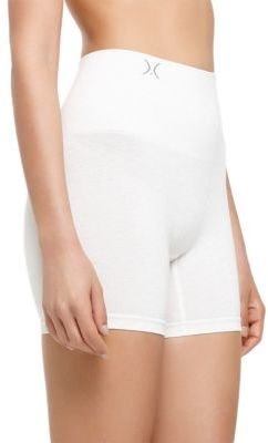 Yummie by Heather Thomson Seamlessly Shaped Heathered Cotton Shorties