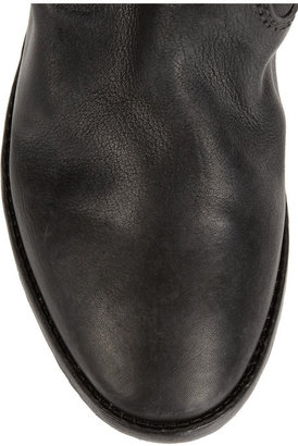 Isabel Marant The Caleen studded leather concealed wedge boot