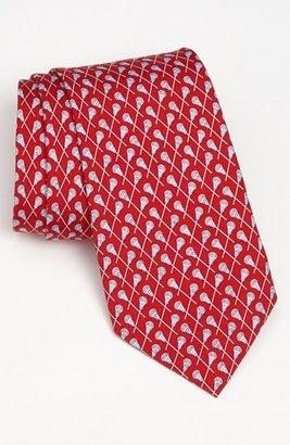 Men's Vineyard Vines 'Lacrosse' Silk Tie $85 thestylecure.com