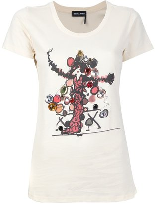 Sonia Rykiel embellished t-shirt
